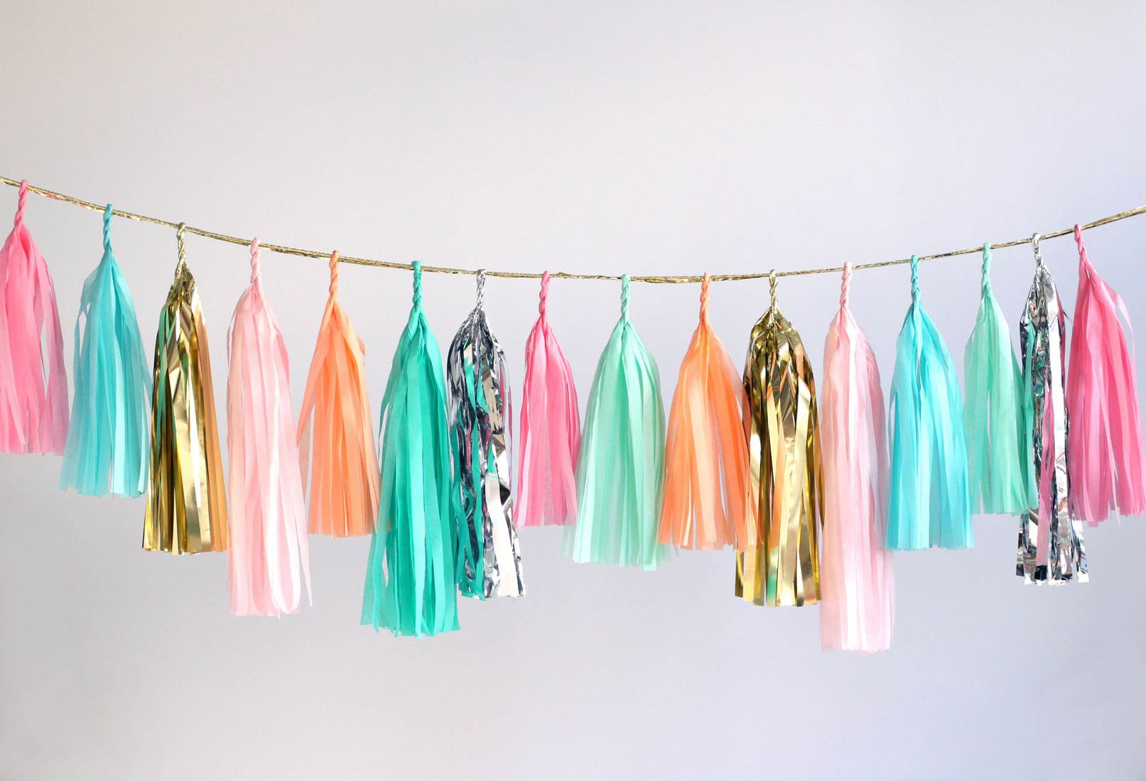 Large tassel garland multi new web